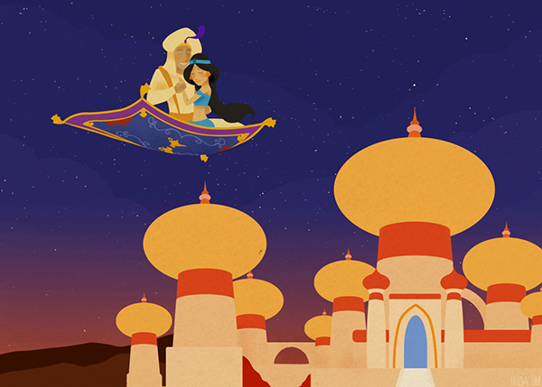 A Whole New World on Behance