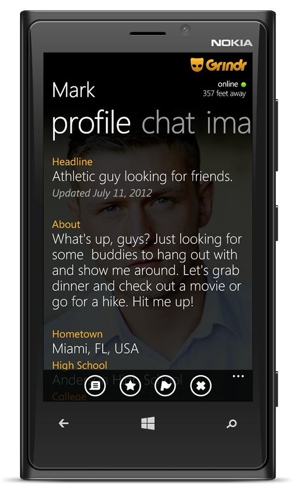 gay dating app for windows phone