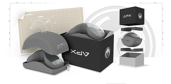aca4cdf962 Dragon APX Goggles Case Packaging on Behance