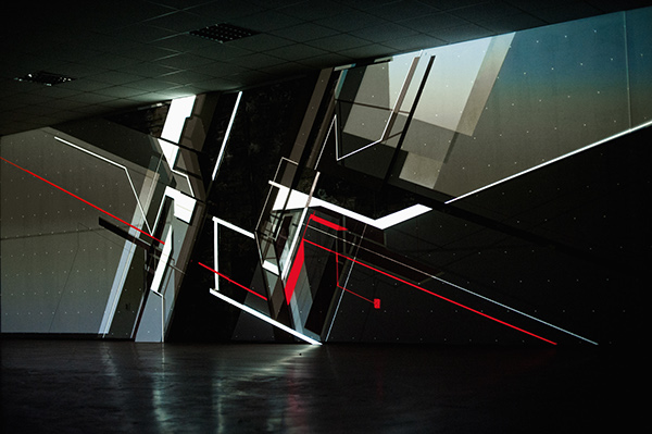 NAWER TEMPORARY SPACE DESIGN DANIEL DRUMZ katowice KATOWICE STREET ART festiwal NAWER VS TEMPORARY Space design Mapping