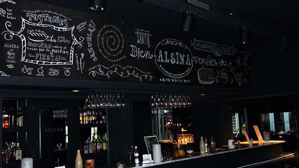 brainbrand ALSINA marca Logotipo del rio tipografia