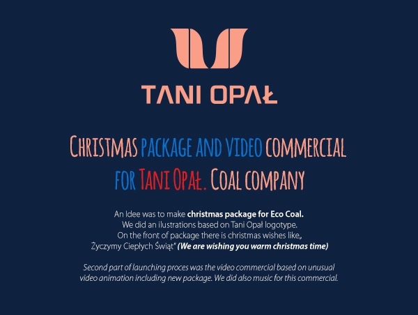christmas eco pea coal package and video commercial on behance - Christmas Wishes Video