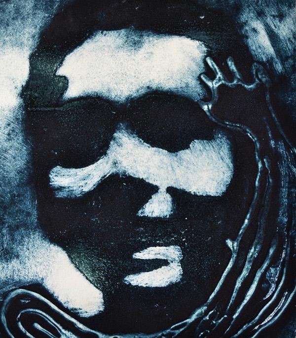 portrait Narative art charcoal MICA Chiosi