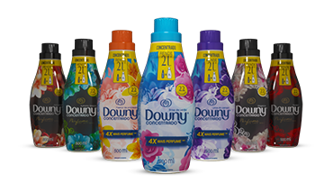 Downy Packaging relaunch p&G Brasil 3D Render motion animation  piacentino