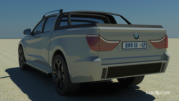 The Bmw X8 Concept On Behance