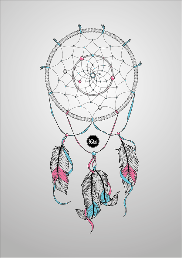 Dream Catcher Drawing on Behance