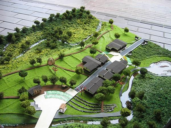 Physical model making for landscape design on behance for Landscape design build