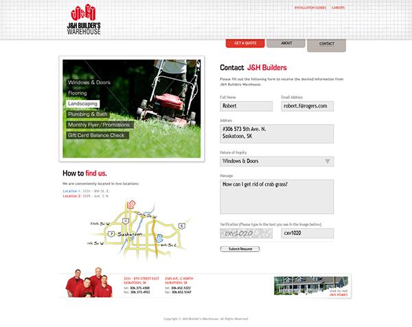 J&H Builders zu communications