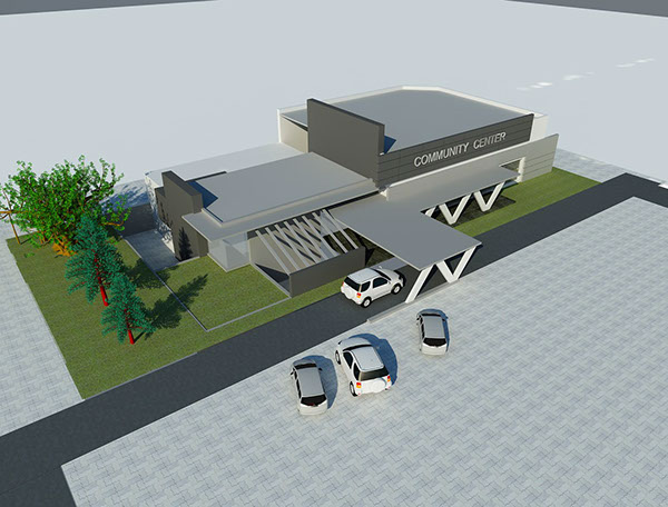 Community Center Architecture Community Center Lahore on