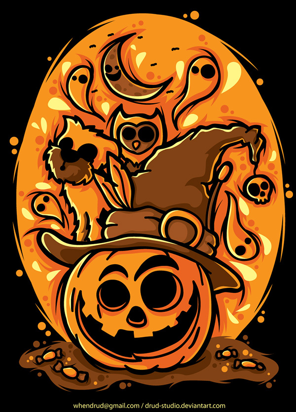 Los mejores dise os de calabazas para halloween - Disenos de calabazas ...