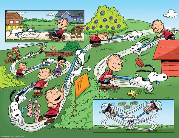 PEANUTS Comic Book Coloring on SVA Portfolios