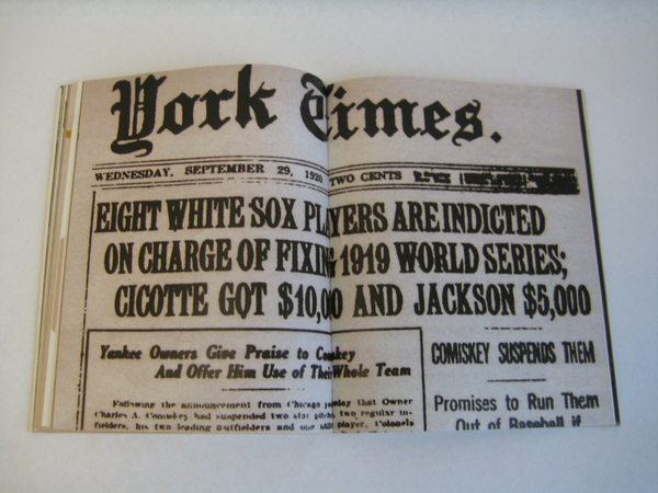black sock scandal The eight chicago black sox the black sox scandal was a major league baseball match fixing incident in which eight members of the chicago white sox were accused of intentionally losing the 1919 world series against the cincinnati reds in exchange for money from gamblers (see arnold rothstein.