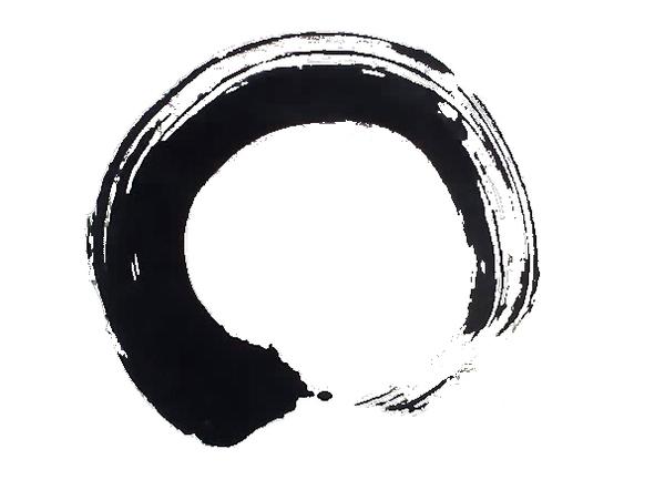 Shodo japanese calligraphy - Symbole zen attitude ...