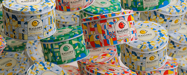 Hallopz - Packaging