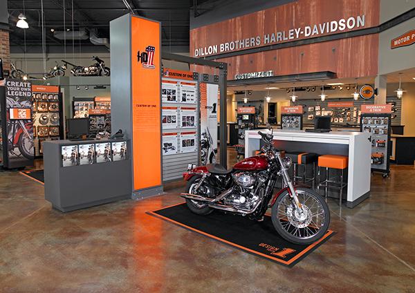 Harley Davidson H D1 Shop Concept On Behance