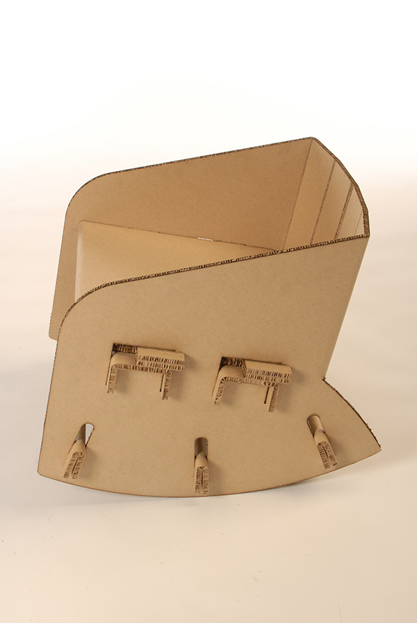 Cardboard Rocking Chair on Behance