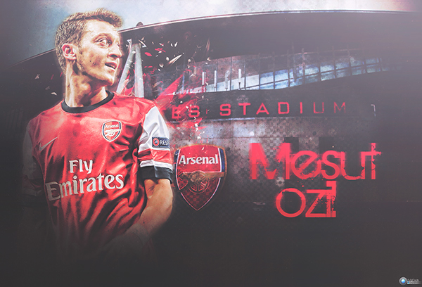 Mesut Ozil Wallpaper On Behance