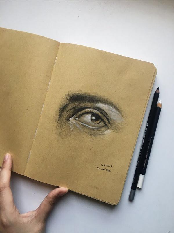 精品的24套手繪眼睛欣賞
