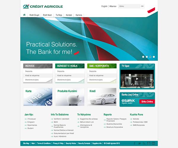Cedit Agricole Bank Tirana  albania