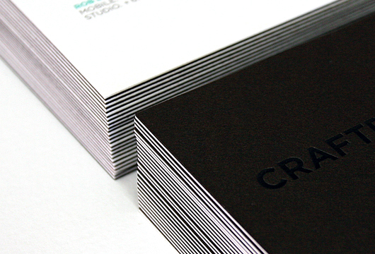 Stationery Business Cards Litho Printing foil duplex