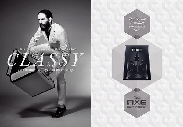 Axe / Black Perfumes on Behance