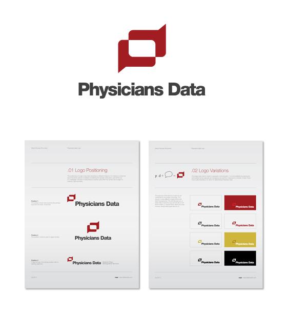 Business Cards logo medical physician logo development graphics modern