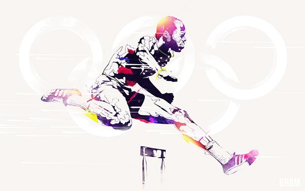 olympic London london2012 legend track and field Nike adidas athletics athletes sport wallpaper desktop download portrait magazine