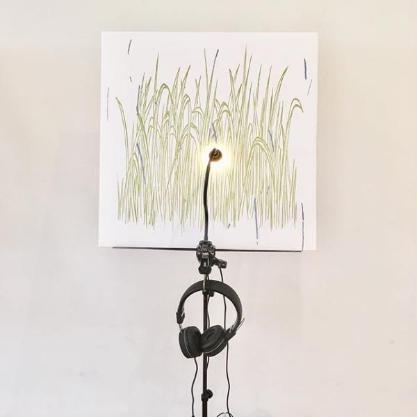Image may contain: wall, drawing and art