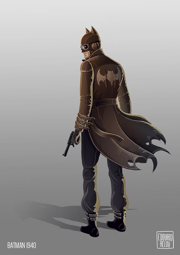 batman dc Dc Comics comics edouard relou