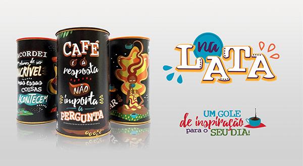 Coleção de Latas Ilustradas - NA LATA