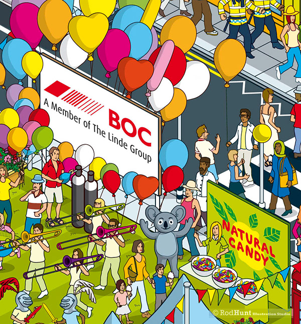 nectar business superpoints balloon competition on behance