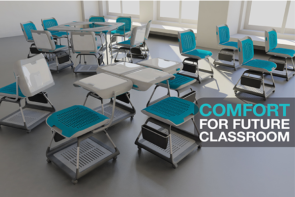 Modern Classroom Seating : Future classroom seating on behance