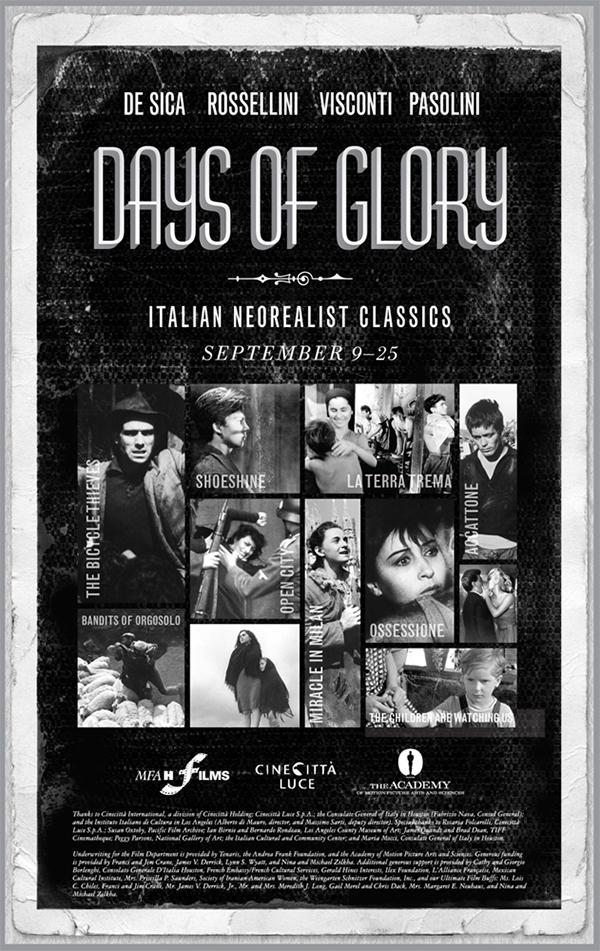 films, italian neorealism,MFAH, MFAH Films,Cinecitta Luce