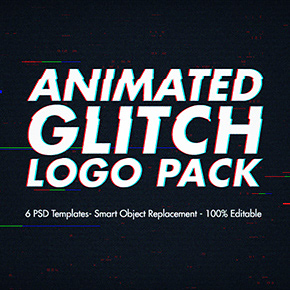 Animated Glitch 2 - Photoshop Action - 28