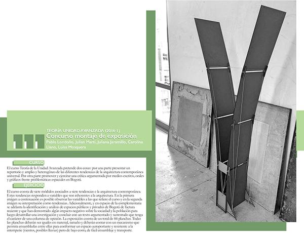 Cc ua teor a concurso montaje exposici n 201610 on student for Arquitectura tecnica ua