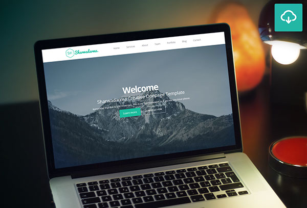 HTML html5 css css3 bootstrap parallax onepage creative flat Responsive