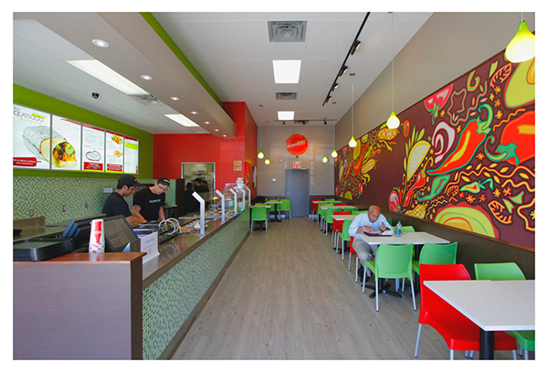 Quesada Mexican Grill Art Mural On Behance