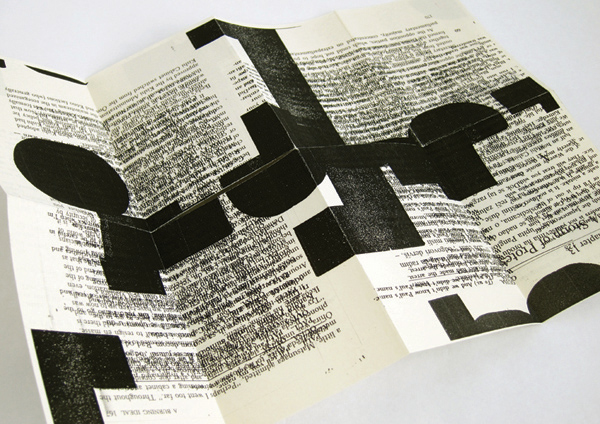 typographic zine on behance