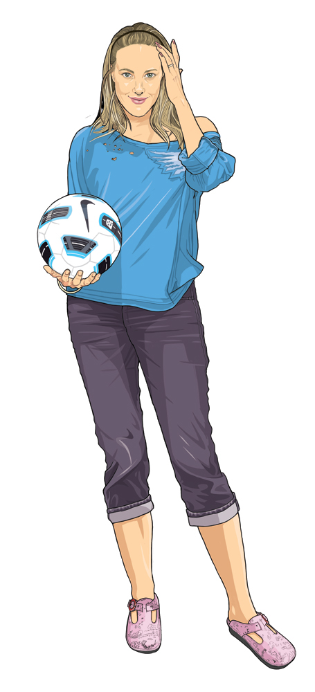 Suburban Mom Stereotypes Suburban Soccer Mom is a