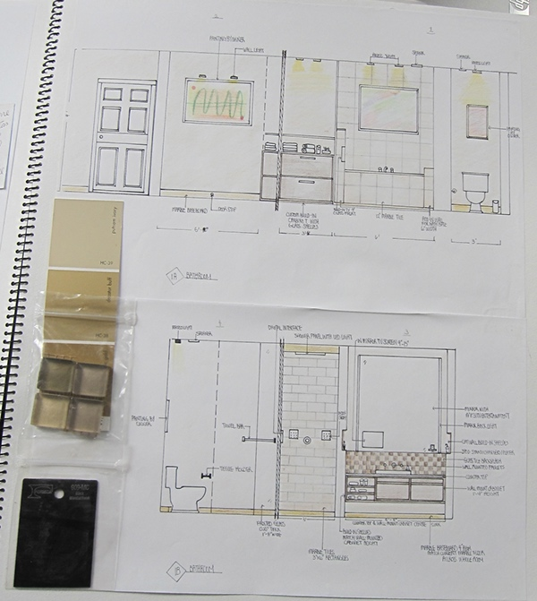 Residential Interior Design Course Works On Adweek Talent Gallery