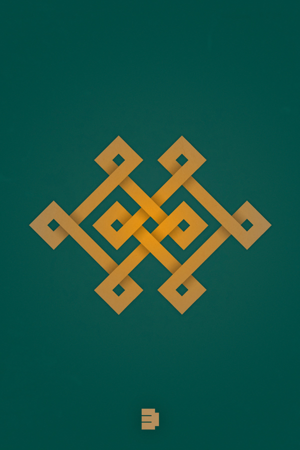 Mongolian Traditional Ornaments On Behance