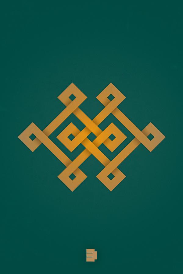 Mongolian Traditional Ornaments On Behance