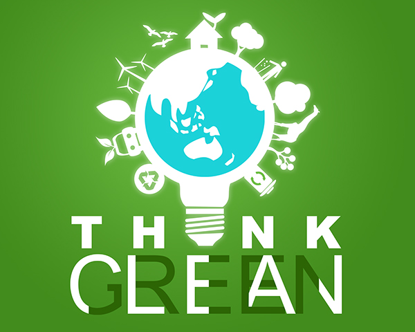 Think Green Think Green Think Clean on