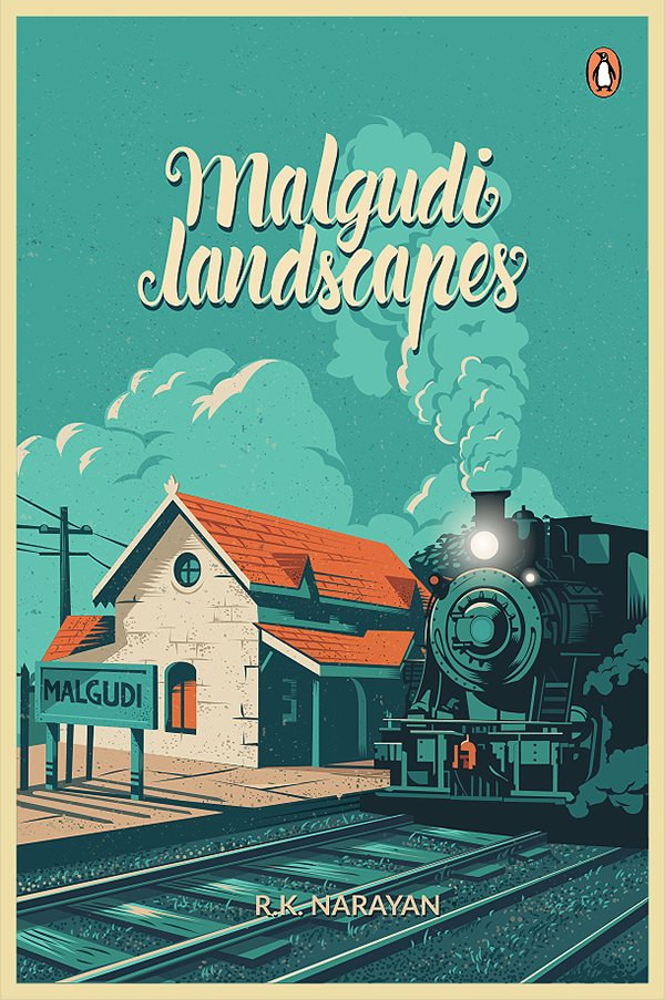 Book Cover Layout Bangalore : Malgudi landscapes book cover on pantone canvas gallery