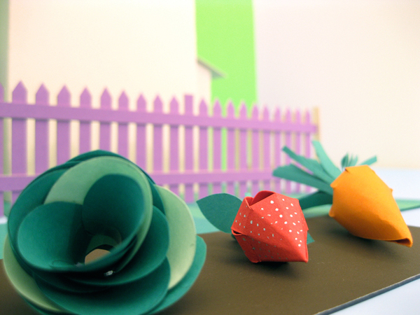 Studio this and that greenfingers paper craft paper graphics Education school