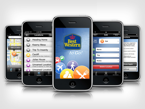 Best Western To Go Iphone App On Behance