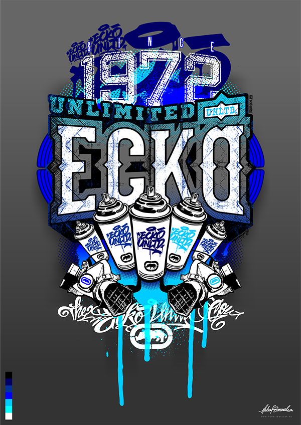 prints for ecko unlimited  on behance