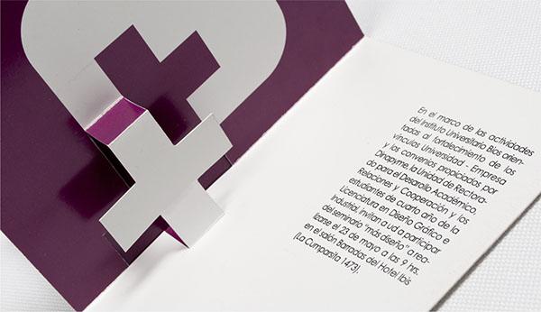 Diseño Publicitario Tarjeta Invitación Seminario On Behance