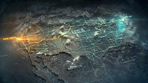 Run Usa Map.Nfs The Run On Behance