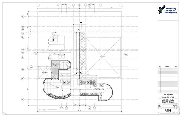 Villa Savoye-Revit Construction Documentation on PhilaU
